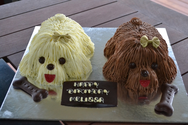 A Banksia Park Puppies Party cake